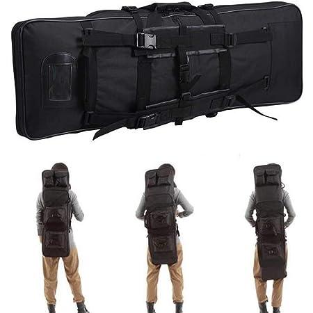 Chasse Rembour/éE Sac Tactical EnweLampi /ÉTanche Mallettes pour Arme Sac Tactical Double Rifle pour Chasse Et Fusil /à Air Pistolet,120CM