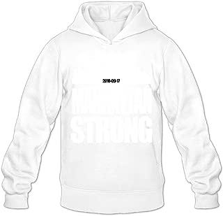 Men's Manhattan Strong Logo Hoodies Sweatshirts