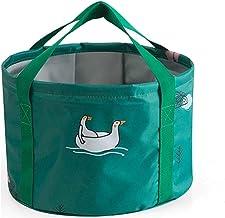 LJBH Portable Collapsible Basin, Outdoor Water Basin, Travel Large Foot Bag, Travel Laundry Basin, Wash Basin Foot Wash Bu...