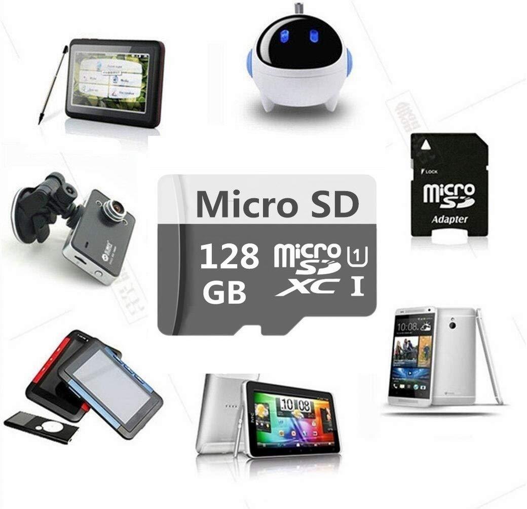 Geneircc 128 GB/256 GB/512 GB/1024 GB, tarjeta SDXC de alta velocidad clase 10 con adaptador SD 128 GB: Amazon.es: Electrónica