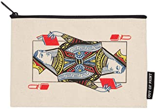 Out of Print Literary and Book-Themed Zipper Pouch for Book Lovers, Readers, and Bibliophiles