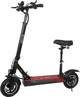SUMEND EU Warehouse Kugoo KIRIN M4 elektrisk skoter för vuxna, scooter med avtagbart säte, 500 W motor 3 hastighetslägen 4...