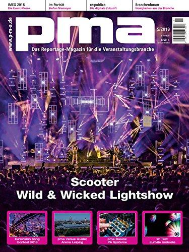 Scooter Wild & Wicked Lightshow - pma Magazin für die Veranstaltungsbranche