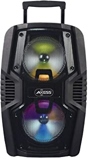 Axess Portable Bluetooth Speaker with Double 10� Subwoofers 1.5�� Tweeter and Digital Display, Rich Bass Wireless Bluetooth Speaker Outdoor/Indoor AXESS PABT6029