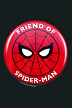 Marvel Spider Man Far From Friends Of Spider Man Circle Logo: Notebook Planner - 6x9 inch Daily Planner Journal, To Do Lis...