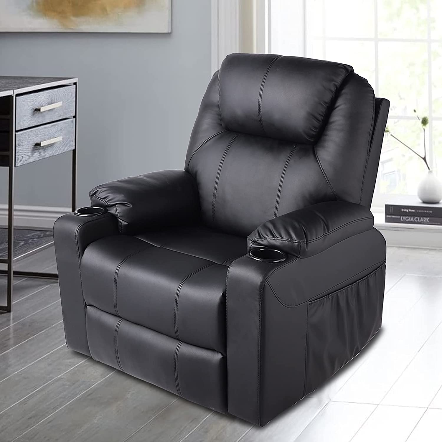 RELAXIXI unisex 360 Degree Ranking TOP5 Swivel Recliner Contr Remote Chair Wireless