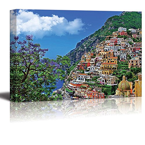 """Wall26 - Canvas Prints Wall Art - Travel in Italy Series - Positano 