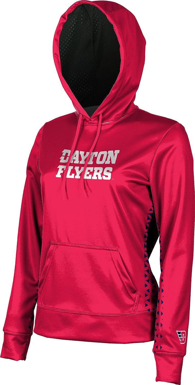 ProSphere University of Dayton Girls' Pullover Hoodie, School Spirit Sweatshirt (Geo)