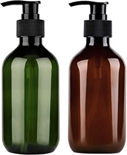 2PCS 500ml/17oz Hand Gel Dispenser Refillable Hand Sanitizer Bottles Empty Shampoo Bottles Versatile Pump Bottle Drip-free...
