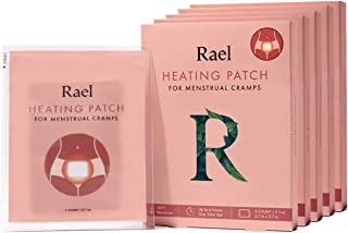 Rael Natural PMS Relief Heat Therapy Patches (15 Count (Pack of 5))