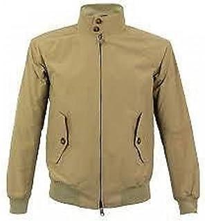 merc London Vintage Retro Harrington Jacket Tan