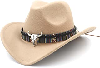 Jie-hats, Fashion Womens Western Casual Cowboy Hat Lady Jazz Cowgirl Sombrero Caps
