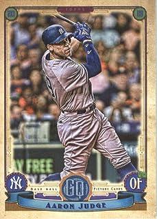 fcbad486c 2019 Topps Qypsy Queen  300 Aaron Judge New York Yankees Baseball Card