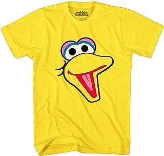 Sesame Street T-Shirt Big Bird Face Tee Adult Mens Graphic Apparel