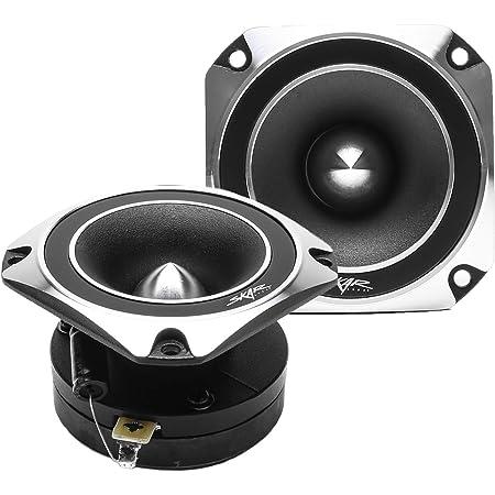 Skar Audio VX35-ST 3.5-Inch 300 Watt RMS High Compression Titanium Bullet Tweeters, Pair