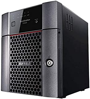 BUFFALO TeraStation 3420DN 4-Bay Partially Populated 16TB NAS (2x8TB) NAS Hard Drives Included 2.5GBE