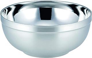 カクセー ステンレスどんぶり シルバー 満水容量:1.6L HOL-02