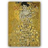 F FEEBY WALL DECOR Metallbild Gustav Klimt Bild Kunstdrucke