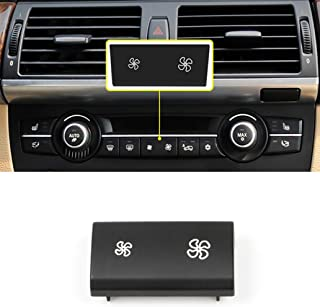 Jaronx For BMW A/C Climate Control Panel Fan Speed Button Replacement,fit for BMW X5 E70 2006-2013, X6 E71 2007-2014 (1 PCS)