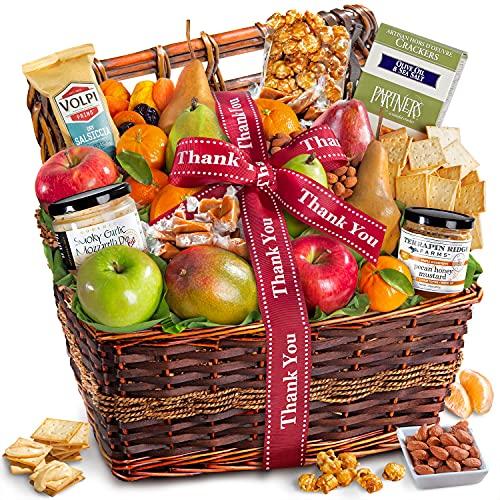 Thank You Teacher Abundance Gift Basket