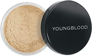 Youngblood Clean Luxury Cosmetics Loose Mineral Rice Setting Powder, Dark | Matte Natural Translucent Loose Face Finishing Setting Powder Foundation | Vegan, Cruelty-Free, Paraben-Free