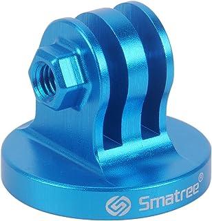 Smatree Trípode De Aluminio Adaptador De Montaje para GoPro Session Hero 87654321 (Azul)