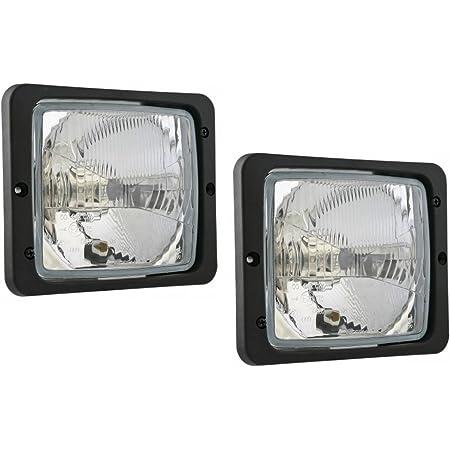 2x Scheinwerfer Traktorlampe 172x142 Mm Fernlicht Positionslicht Abblendlicht Auto