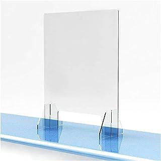 JDJD Barrière De Protection des Diviseurs Plastiques Antispray Transparents Bureau De Réception Clear Perfection Comptoir ...
