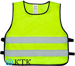 High Visibility Safety Vest For Kids   Reflective Vest for Children   Sizes For Ages From 3 to 12 Years (Small)