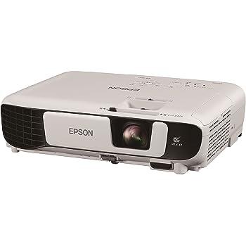 EPSON プロジェクター EB-W41 3600lm 15000:1 WXGA 2.5kg 無線LAN対応(オプション)