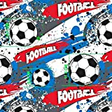 Pingianer 11,99€/m Ball Football Fussball 100% Baumwolle