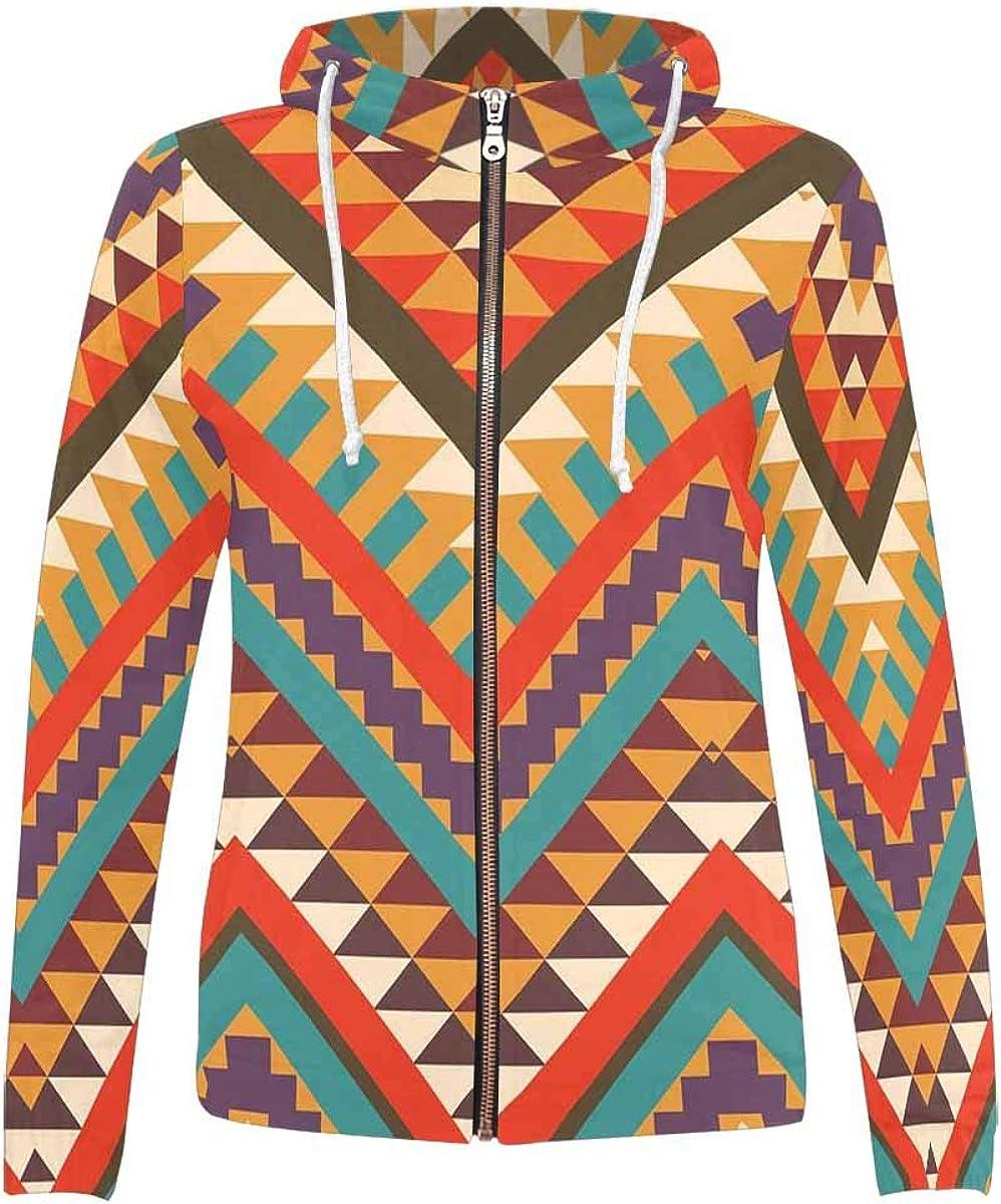 InterestPrint All Max 87% OFF Over Print Full Sweatshirts Sports Zip Store Hoodie