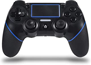 Sefitopher Wireless PS4 Controller for Playstation 4/Pro/Slim/PC Laptop, Professional PS4 Gamepad,Touch Panel Joypad with ...