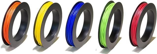 NinjaFlex TPU Flexible Filament 1.75mm 50g Primary 5-Pack