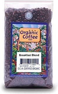 The Organic Coffee Co. Breakfast Blend Whole Bean Coffee, 32-Ounce Bag