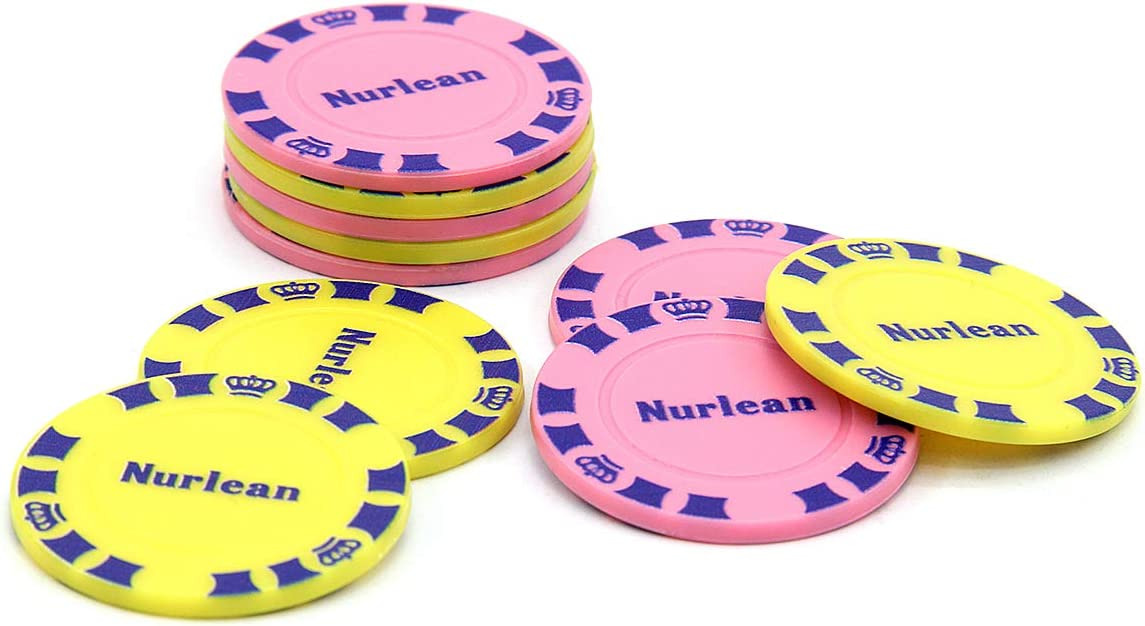 Nurlean 37mm 1.45 Inch Small Plastic Bingo SEAL limited product Chip Very popular Counters C Poker