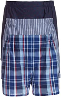 a280de5656e8 Polo Ralph Lauren Men`s Classic Fit Cotton Woven Boxers 3 Pack