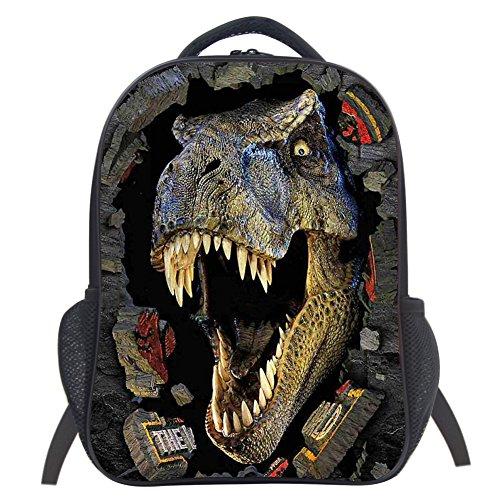 Dinosaur School Bag Rucksack Backpack (Dinosaur 5 14 Inch)