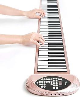 Silicone Electronic Piano Portable Folding 61 Key 88-Key Electronic Keyboard Beginner Professional Thickening Midi Piano (...