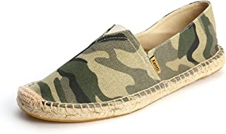 Kentti Espadrilles en Toile à Motif de Camouflage pour Homme