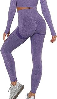 KIWI RATA Vrouwen Scrunch Butt Lift Gym Leggings TIK Tok Hoge Taille Naadloze Yoga Broek Ruches Booty Push Up Tummy Contro...