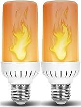 Flame LED Light Bulb in E26 Medium Edison Screw Base DC 12 Volt Landscaping Low Voltage Lighting for Home Landscape Outdoo...