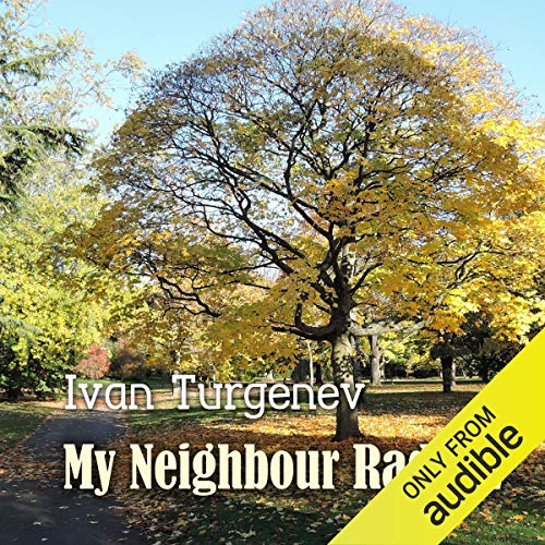 My Neighbour Radilov audiobook cover art