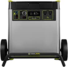 Goal Zero Yeti 6000X Portable Power Station, 6071Wh Portable Lithium Battery, 2000W AC Inverter, Backup Power Supply Gener...