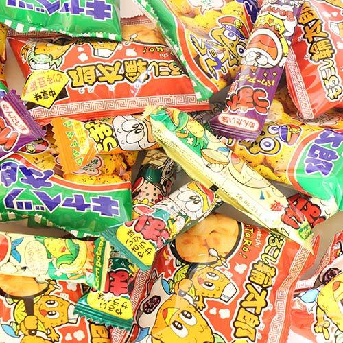 やおきん・菓道の定番駄菓子 キャベツ太郎・うまい棒が入ったスナック菓子(全150コ) セット おかしのマーチ