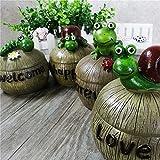 Monsiter Aschenbecher für Zigarette Creative Snail Aschenbecher mit Deckel Home Decoration - 7