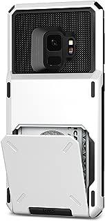 Vrs Design VRS91573 Galaxy S9 Damda Folder Kılıf, Cream White