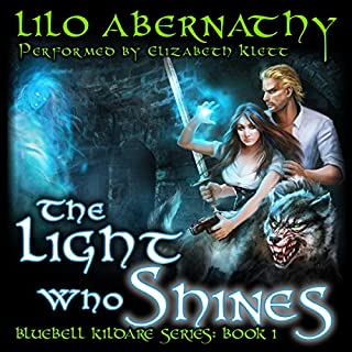 The Light Who Shines audiobook cover art
