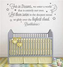 Decoratieve Sticker voor Kids Walls voor in Dreams betreden we een wereld die volledig onze eigen Laat ze zwemmen in de di...