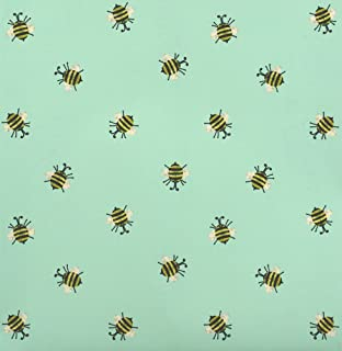 Bumble Bee Spring Themed Gift Wrap Flat Sheet - 24